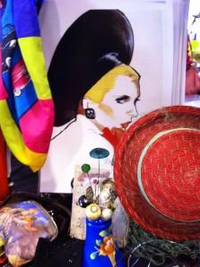 Polka dot vintage markets